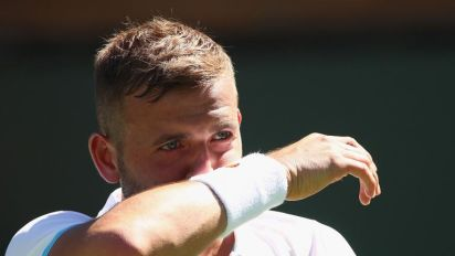 After turning his career around, it seems Dan Evans never stopped being a 'bad boy' after all