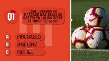 Opta Quiz - ¿Qué jugador de LaLiga suma más goles de cabeza en 2020?