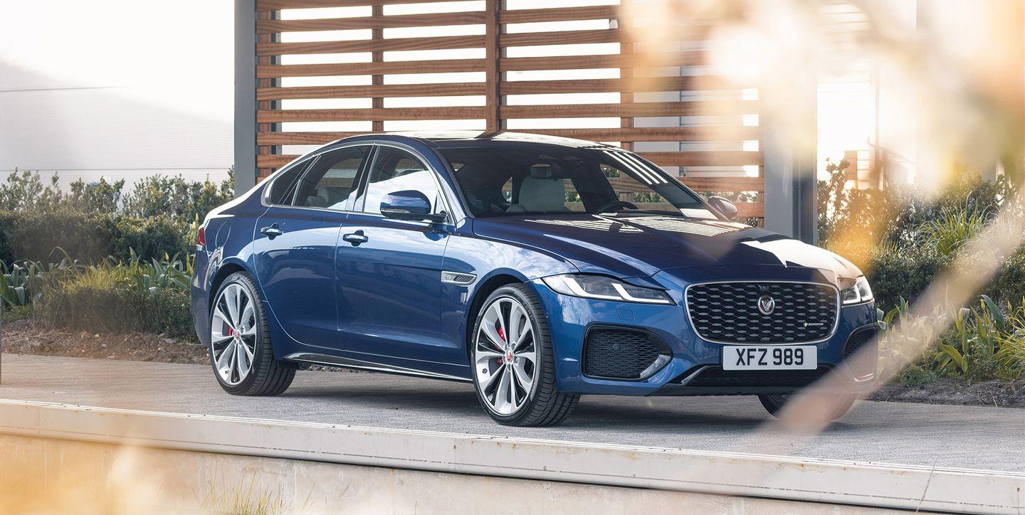 jaguar xf gets a refresh for 2021 but hurry if you want a