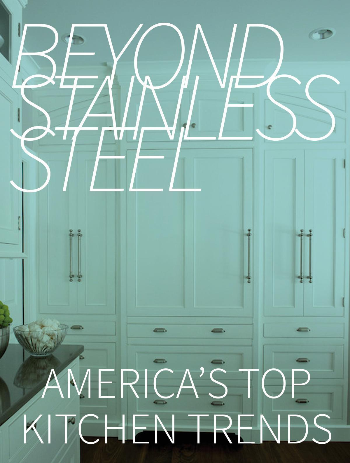 Beyond Stainless Steel: America\'s Next Top Kitchen Trends