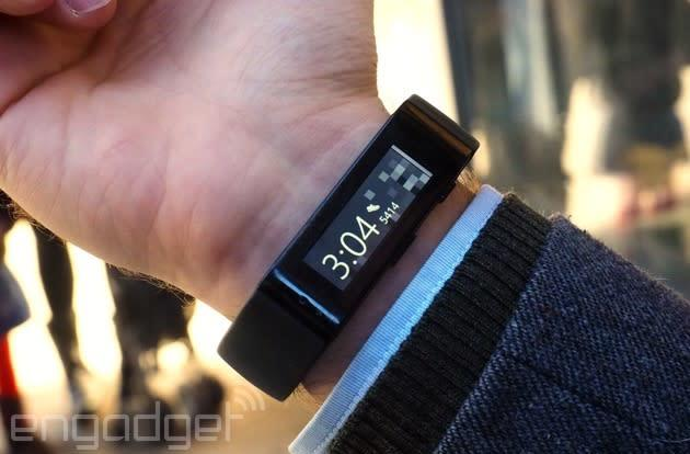 Microsoft Band update lets you type replies and track your cycling