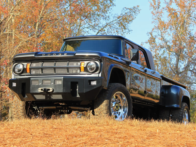 Dodge D200 Crew Cab >> This 1969 Dodge D200 Power Wagon Mega Cab is One-of-a-Kind