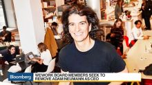 WeWork Board Members Seek to Remove Neumann as CEO