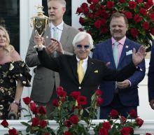 Ky. Derby winner faces disqualification; track bans Baffert