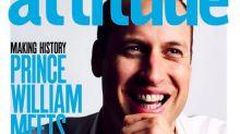 Il principe William sulla cover della rivista gay Attitude