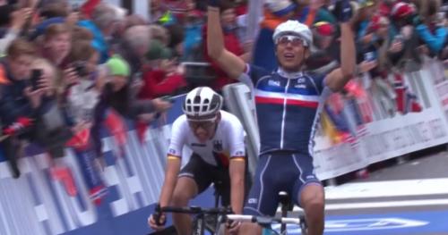Cyclisme - ChM (H) - Espoirs - Le Français Benoît Cosnefroy champion du monde Espoirs