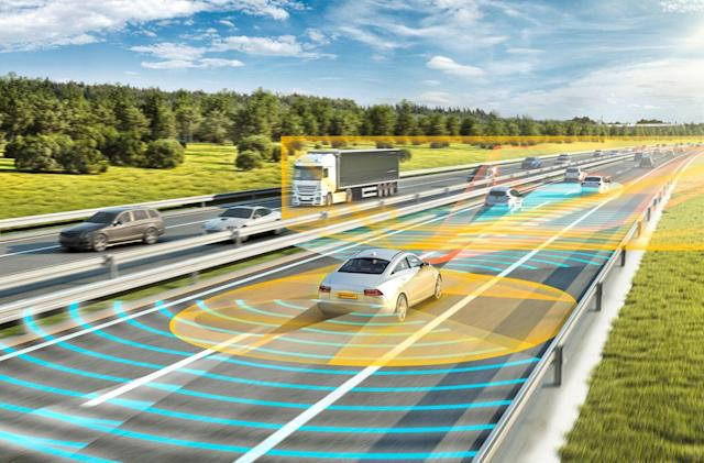 Self-driving car demo is the first to cross the US-Canada border