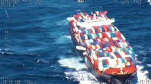 Huge Cargo Ship Loses Dozens of Containers in Rough Sea Conditions off East Coast of Australia