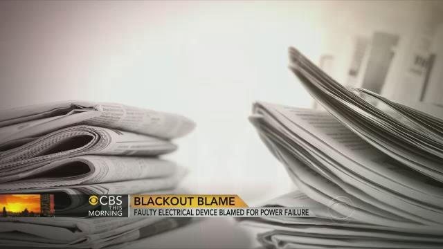 Superbowl blackout caused by faulty electronic relay