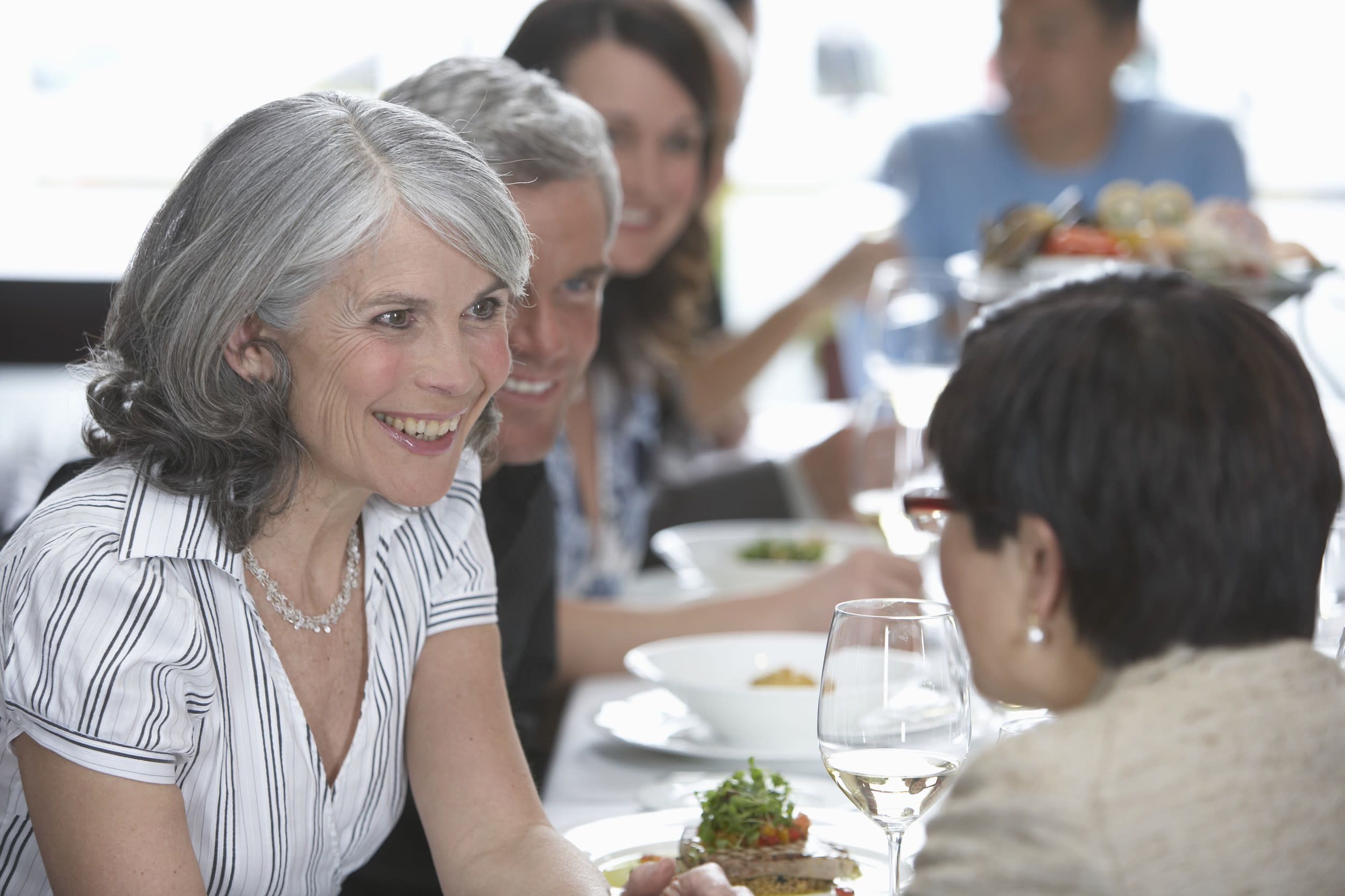<p>Research from Senior Railcard found that retirees eat out an average of three times a month. However, one in ten do so more than twice a week, and one in three people said that one of the first things they did when they retired was to go out for lunch with their friends.</p>  <p>Of course, just because retirees want to enjoy themselves, it doesn't mean they are happy to throw money away. The vast majority are keen to eat at lunchtimes, when a fixed lunch menu tends to be cheaper, and canny retirees are skilled at tracking down pensioner special offers too.</p>