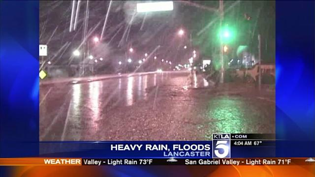 Rain, Scattered Thunderstorms Expected Across SoCal