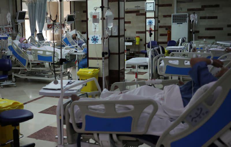 Iranian hospitals battling coronavirus to stop non-emergency treatment