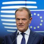 EU's Tusk: Longer Brexit talks would be better than no deal