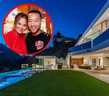 Chrissy Teigen and John Legend scooped up a new Beverly Hills mansion for $17.5 million just a month after putting their old one on the market — take a look inside