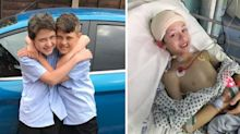 Boy, 12, diagnosed with cancer just weeks after twin dies of brain tumour
