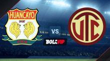 Qué canal transmite Sport Huancayo vs. UTC Cajamarca por la Liga 1 de Perú 2021