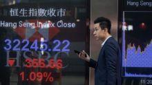 Las estatales chinas tiran hacia abajo del Hang Seng