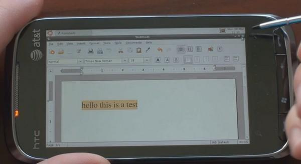 Ubuntu hits HTC's Touch Pro2, is any Windows Mobile handset safe? (video)