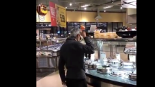 'Who does that?': People are aghast after man samples soup directly from ladle in supermarket