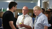 Boris Johnson confronted by furious dad of sick girl during hospital visit