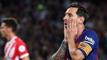 Barcelona unbeaten but no longer perfect