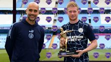'You took two away from me!' - De Bruyne happy to share Premier League assists record with Henry
