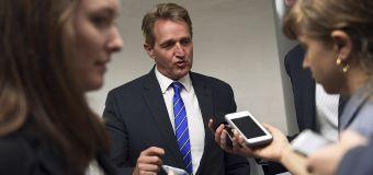 Unaware mic is live, GOP senator bashes Trump