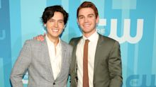 """""""Riverdale"""" Stars Cole Sprouse and KJ Apa Are Feuding Over Instagram For The Funniest Reason"""