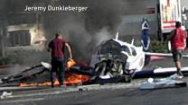 Small Plane Crash in a San Diego Parking Lot Kills Passenger