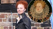 Margot Robbie unrecognisable as she transforms into Elizabeth I