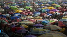 Feriado de 7 de setembro: praias lotam no Rio de Janeiro mesmo com pandemia