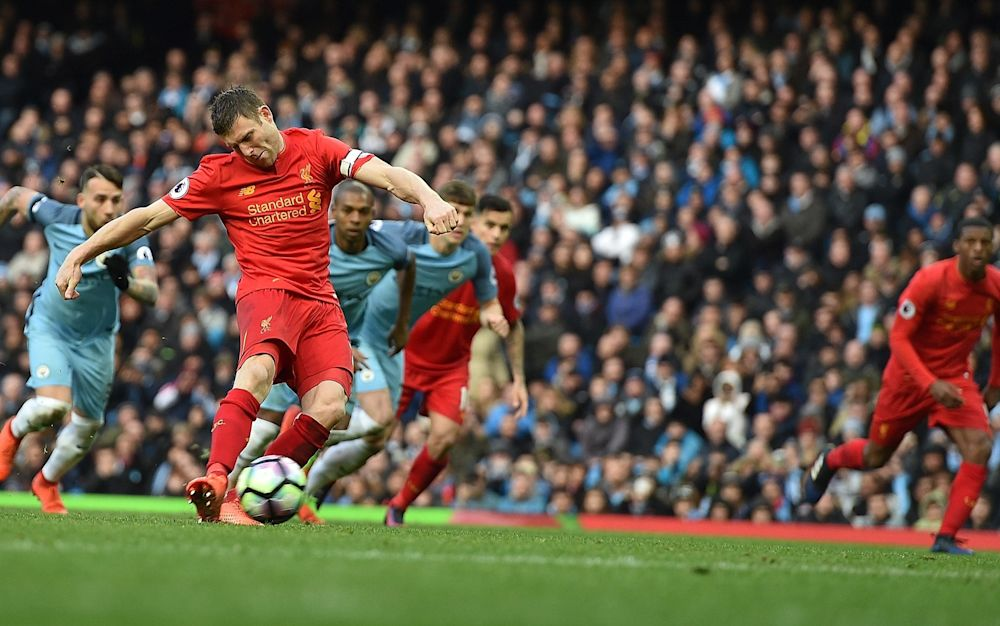 James Milner was booed on his return to the Etihad - 2017 Liverpool FC