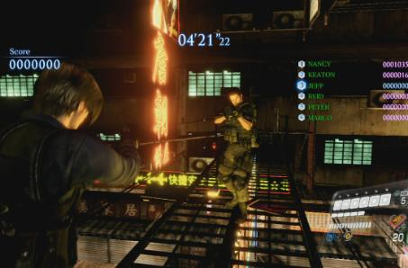 Resident Evil 6 multiplayer DLC now on PS3, Mercenaries map bundle in March