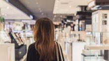 Endlich in Ruhe einkaufen – dank dem grauen Einkaufskorb!