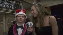 Teen with Down syndrome crowned prom king