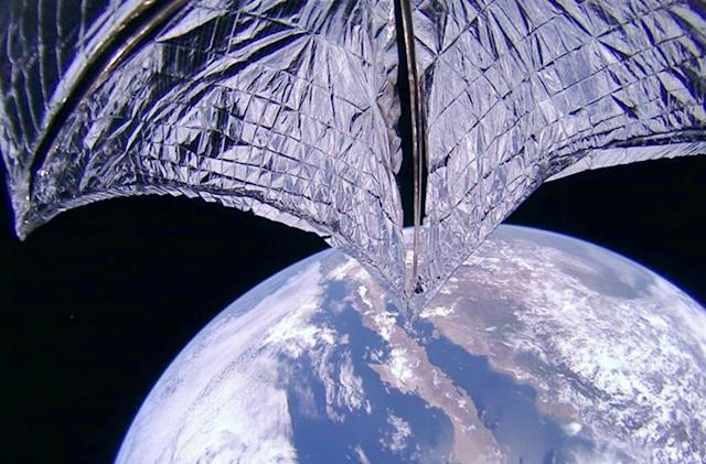LightSail 2 is now surfing on sunlight