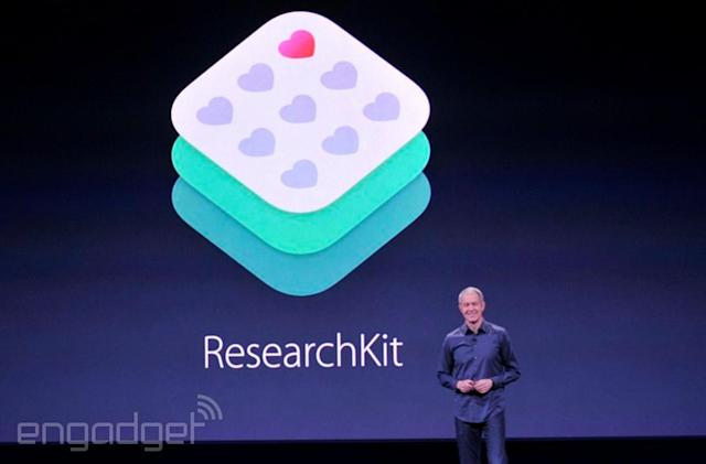 Apple introduces ResearchKit apps for autism, melanoma and epilepsy