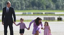 What does Kate Middleton's body language say about her?