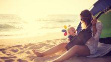 Schatten, wo immer du ihn brauchst: Mit der (reduzierten) Strandmuschel von Jack Wolfskin