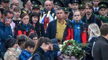 Crimea mourns school massacre victims at tearful funeral