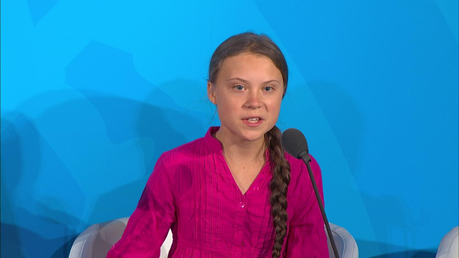 Emotional Greta Thunberg chastises world leaders Video