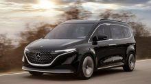 Mercedes EQT: Le ludospace électrique