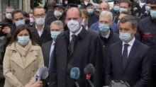 """Attaque à Paris: Castex rappelle sa """"volonté résolue de lutter contre le terrorisme"""""""