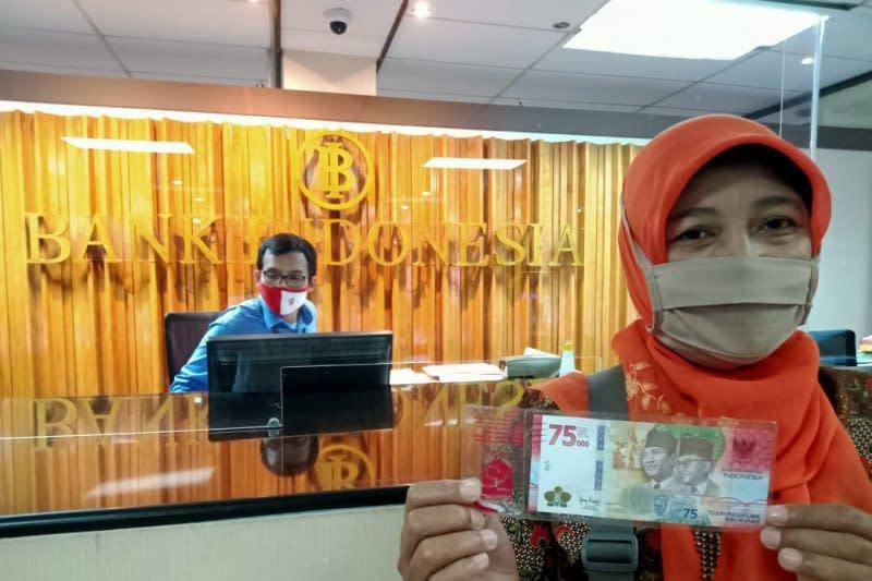 Masyarakat bisa tukar uang pecahan Rp75 ribu untuk Lebaran