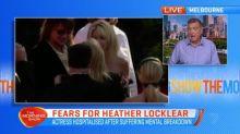 Heather Locklear hospitalised after suffering mental breakdown