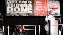 (PHOTOS) Honda Power Equipment marks 35 years with $46.5 million expansion, new product announcements