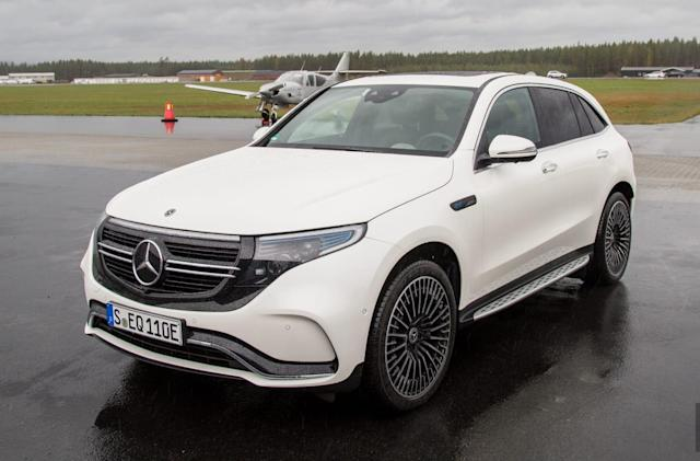 Mercedes' EQC electric SUV will start at $67,900 in the US