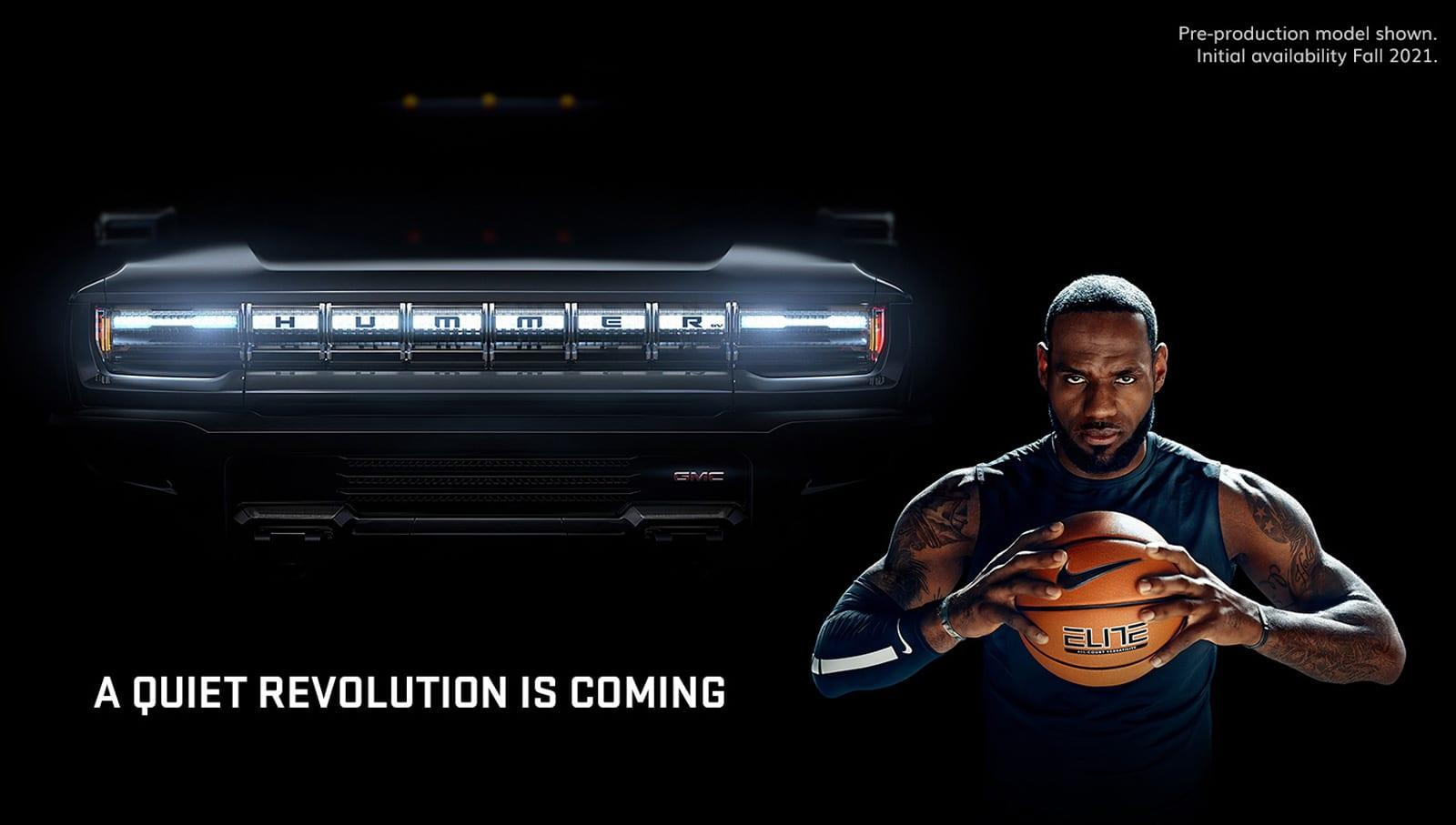 Lebron James Helps Gmc Pitch Its Hummer Ev In A Super Bowl Ad Engadget