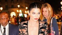 Kendall Jenner Wore a Naked Dress for a Fancy Night Out in Paris