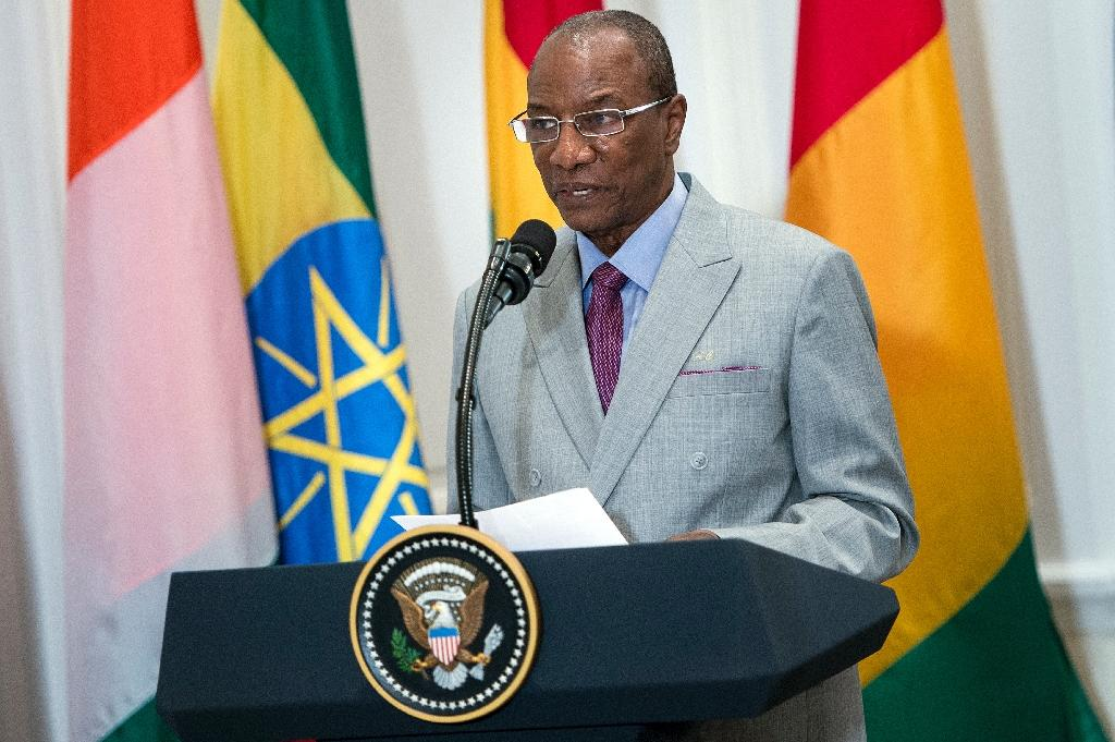 """Guinea's President Alpha Conde, President of the African Union,demanded an enquiry and prosecutions relating to what he termed a """"despicable trade... from another era"""""""
